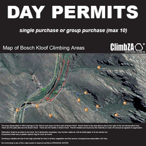 Bosch Kloof Day Permit
